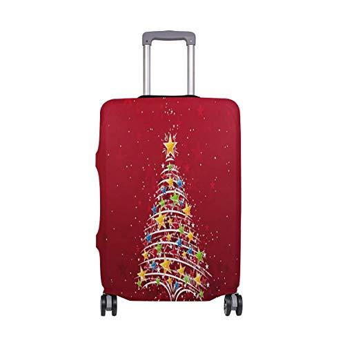 Promini Corgi - Funda para Maleta de Viaje con diseño de Sirena, Lavable, de Spandex, elástica, a Prueba de Polvo de 18 a 32 Pulgadas
