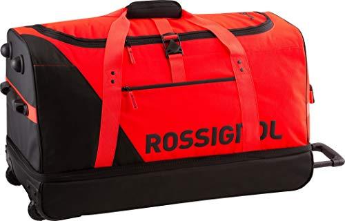 Rossignol Unisex Hero Explorer Ski Luggage - Red/Black, One Size