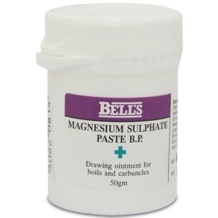 Magnesium Sulphate Paste 50g Drawing Ointment by BELLS