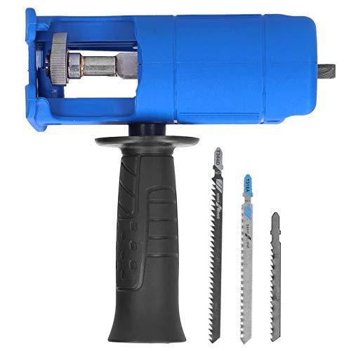 Sierra recíproca doméstica zhoul, taladro eléctrico modificado para sierra caladora, herramienta portátil...