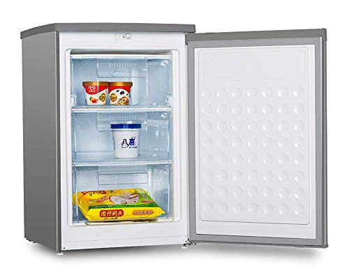 CONGELADOR VERTICAL CV-87S INOX INFINITON (A+, 80L, Puerta reversible, Termostato regulable, Independiente)
