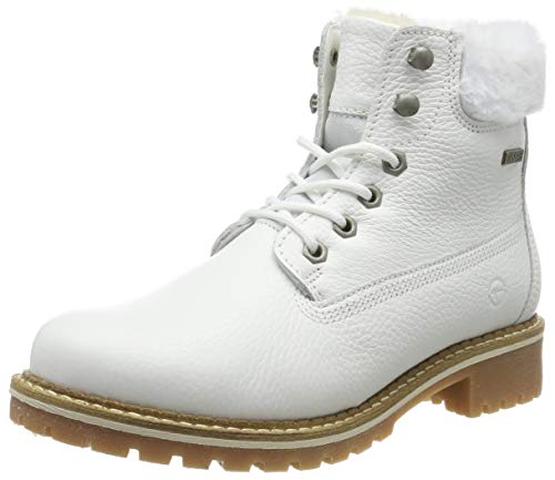 Tamaris Damen 1-1-26294-23 Stiefeletten, Weiß (White 100), 39 EU
