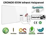 ORIGINAL CRONOS Heizpaneel IR Infrarot Heizung mit Thermostat und Überhitzungss auf Bestes im Test ansehen