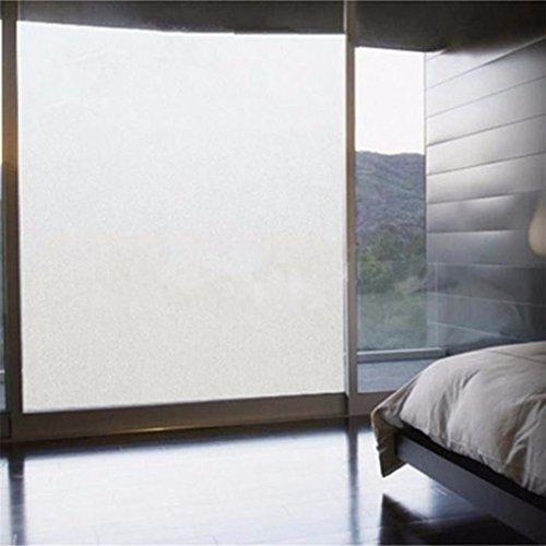 Floridivy 45cmx100cm PVC raamfolie getinte ramen badkamer huis glas Stickers venster Stickers badkamer schaduw