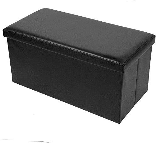Bancos de almacenamiento de taburete de sofá de soste, depósito de asiento plegable Taburete de almacenamiento grande de almacenamiento multifuncional Banco de almacenamiento de taburete de taburete c