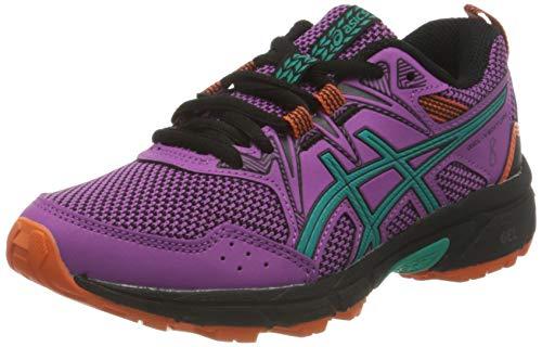 Asics Gel-Venture 8 GS, Trail Running Shoe, Digital Grape/Baltic Jewel, 39 EU