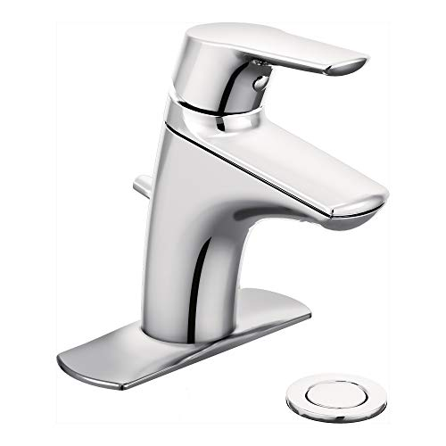 Moen 6810 Method One-Handle Single Hole Bathroom Faucet, 1 count, Chrome