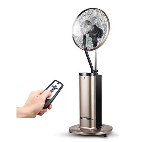 Ventilador Industrial de refrigeración por aspersión, Ventilador de Servicio Pesado, montado en la Pared, Ventilador de Piso de Viento Fuerte para Exteriores, para Exteriores y para restaurantes.