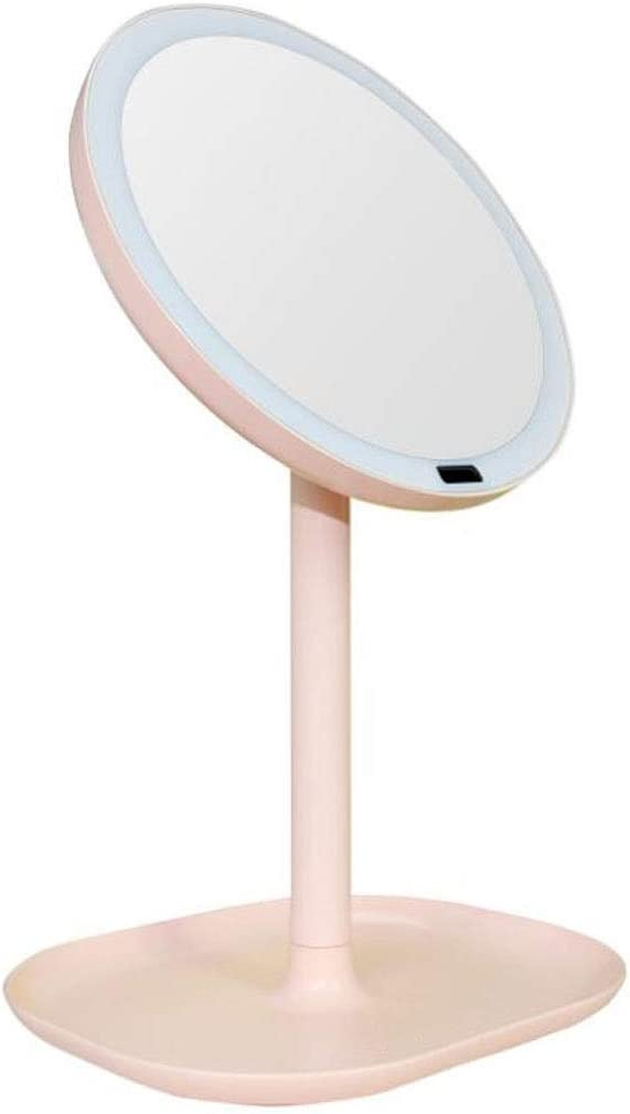 Tabletop Makeup shop Mirror 5X Magnification Induction Smart LED depot Body