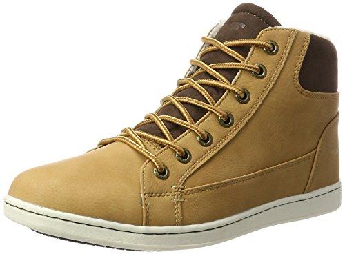 TOM TAILOR Herren 378990230 Klassische Stiefel, Braun (Camel), 42 EU