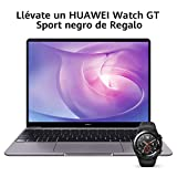 HUAWEI Matebook 13 2020 - Ordenador Portátil Ultrafino 13' 2K (Intel Core i5-10210U, 8GB RAM, 512GB SSD, Windows 10 Home), Mystic Silver + Watch GT Sport Black, Teclado...