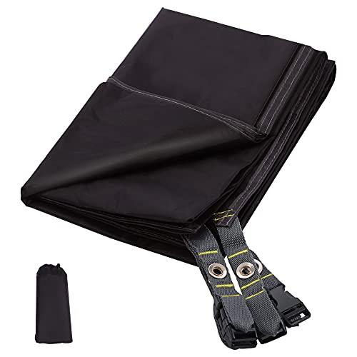 REDCAMP Ultraleichte Zeltfläche für 1-2 Personen Zelt, 221 x 139,7 cm, multifunktional, wasserdicht, Camping-Plane für Outdoor-Wandern