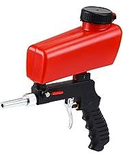 ENJOHOS Sandblasting máquina de chorro de arena portátil/pistola de chorro de arena para arena de acero/cuentas de vidrio/mantenimiento automotriz para óxido/pintura/aceite