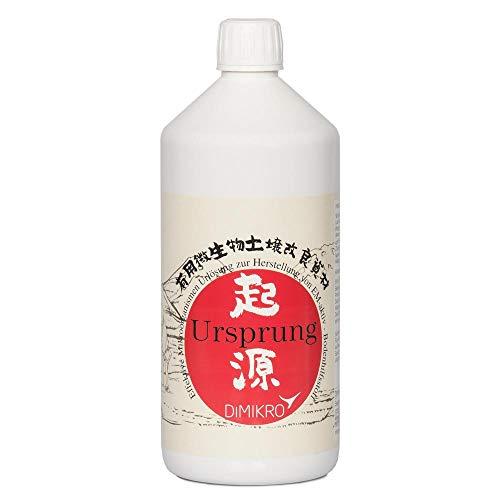 DIMIKRO origen, solución tradicional japonesa, 1 litro (fabricación de EM-Active) activador de suelo con microorganismos efectivos, agente de ayuda para el suelo