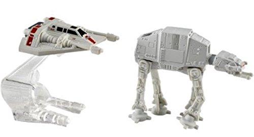 Hot Wheels Star Wars Druckgegossen Fahrzeug 2er Packung - AT-AT Vs. Snowspeeder