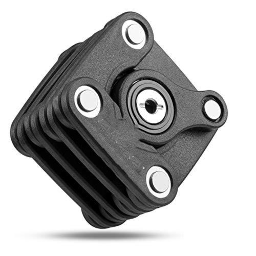 Liutao Mini-halters, hydraulisch, opvouwbaar, fietsslot, hoge veiligheid, anti-boren, slot, diefstalbeveiliging, cilinderslot, lange halter