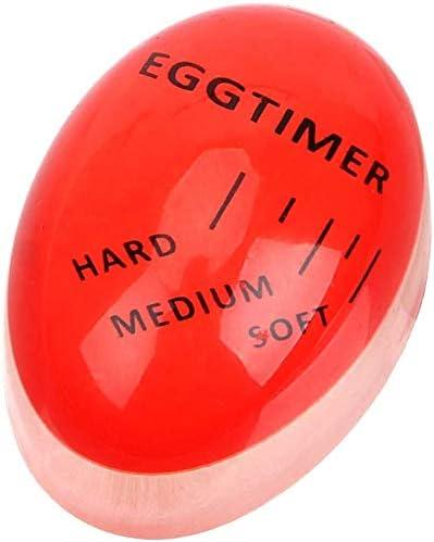 RED Egg Timer for Boiling Soft or Hard Boiled Eggs A1SONIC/® Egg Timer Color Changing