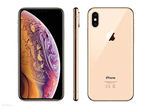 Apple iPhone Xs Max, 512GB, Gold - For GSM (Renewed)