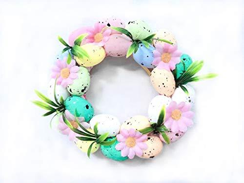 Ghirlanda di uova di Pasqua, utilizzata per decorazioni natalizie, decorazioni per interni, regalo pasquale per bambini, adatto per Pasqua.