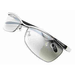 [ZIG's] 鋭くDandy 漂う高級感 春夏秋冬 24時間キマル~Eye-guard クリア系 ハーフミラー ケース、クロス付 (glsm01cl=S)