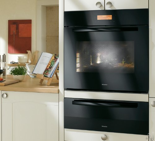 Miele Novotronic : H4881BBL 30 Single Electric Wall Oven