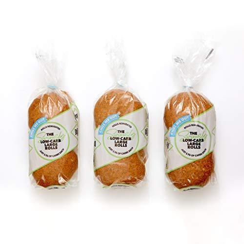 Seriously Low Carb - Rollos de pan grandes (3 paquetes