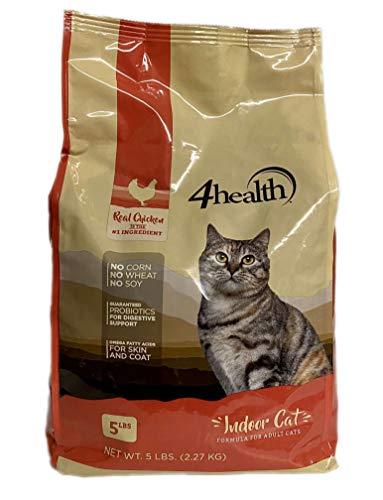 4health Tractor Supply Company, Indoor Cat, Formula for Adult Cats, Dry, 5 lb. Bag Blitz Nur Spec Cat