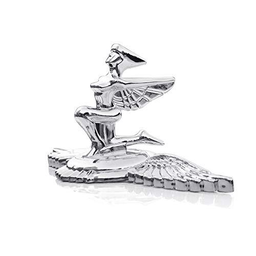 Ggdoo Copertura Dea 3D dell'automobile dell'emblema Logo Frontale Ornamento di Cofano Auto Flying Eagle Distintivo per Auto per Auto Logo