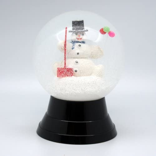 Austria · PERZY made Snow Globe (Snow dome)  balloon and a snowman  120mm type   1720