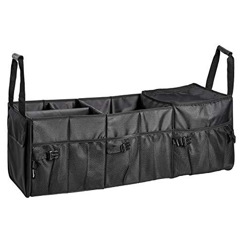 Amazon Basics - Organizador para de maletero para el coche con bolsa isotérmica y compartimento ajustable
