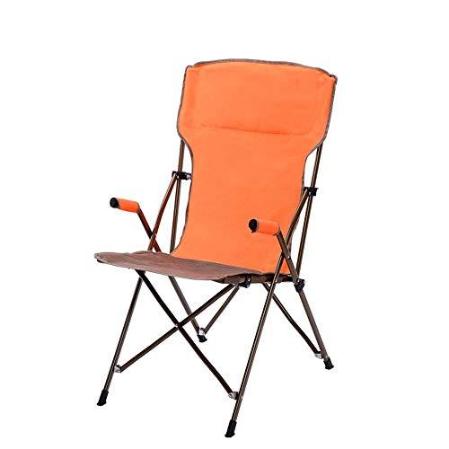 Outdoor Klappstühle, Casual Lazy Home Tragbare Sessel Mode Picknick Barbecue Angelhocker für Camping, Festivals, Garten