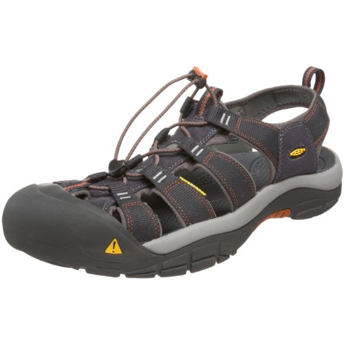 Keen Men's Newport H2 Sandal,India Ink/Rust,11.5 M US