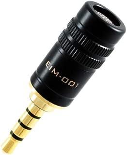 EDUTIGE i-Microphone EIM-001 - * 3.5 毫米 4 极 (TRRS) 麦克风提升智能手机和平板电脑的声音