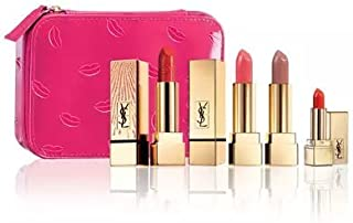 Yves Saint Laurent Beaute Limited Edition Ultimate Lip Set with Cosmetic Case