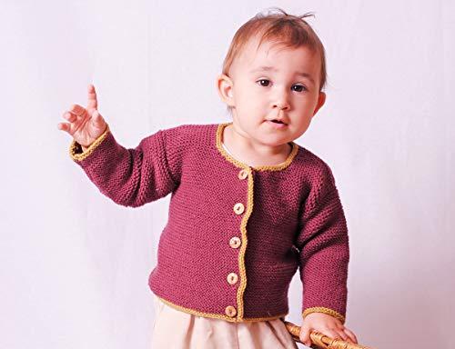 BellaLotta Strickanleitung Babyjacke Frederick & Elena - Gr.62-92, für Anfänger - digital