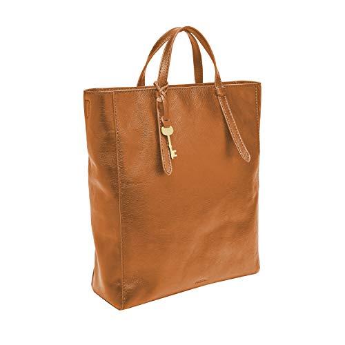 Fossil Women's Camilla Leather Convertible Backpack Handbag, Tan