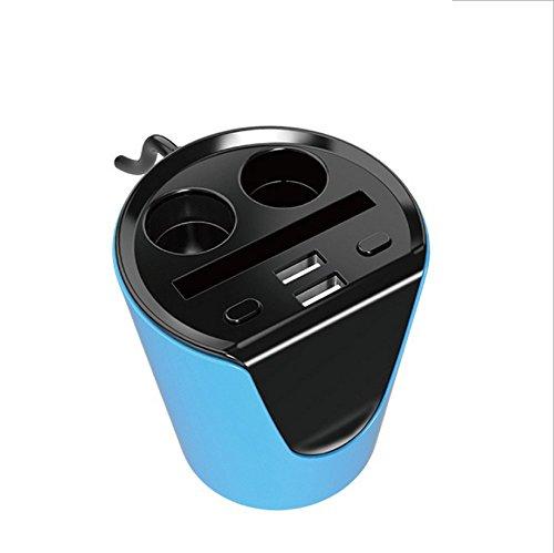 Demarkt 2-poorts sigarettenaansteker autolader dual port USB autolader kaartsleuf poort Car Charger PowerDrive Quick Charger (5V 3.1A) voor het opladen van producten: mobiele telefoons, tablet, auto-lader, navigator, stofzuiger