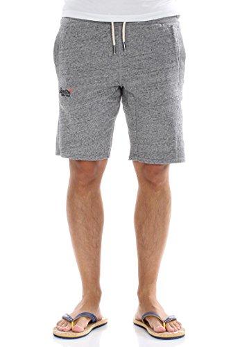Superdry Shorts Men ORANGE Label LITE Slim Short Flint Grey Grit