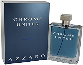 Chrome United by AZZAⱤO for Men Eau De Toílette Spray 6.8 oz