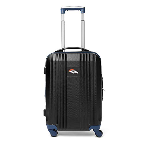 Review Of NFL Denver Broncos Round-Tripper Two-Tone Hardcase Luggage Spinner