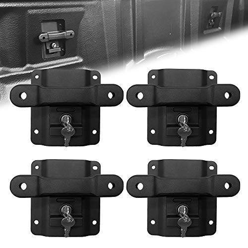 StarONE 4Pcs Truck Bed Tie Down Anchor Boxlink Cleats & Plates Fit for Ford...