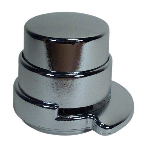 Wedo 127154 - Klammerloses Heftgerät (Kunststoff) verchromt