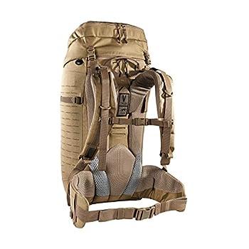 asmanian Tiger TT Modular Pack 45+ Sac à Dos Militaire Tactique Modulaire de Randonée avec Un Volume de 50 litres pour Le Trekking Camping Voyage 50L verrouillables, Kaki