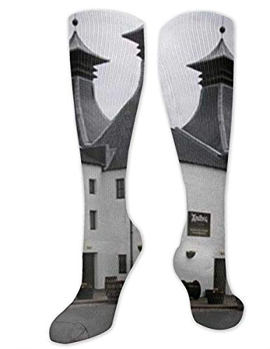 Love girl Ardbeg Distillery Unisex Kniestrümpfe Über der Wade Kleid Socken Lange Kompressionssocke 50cm