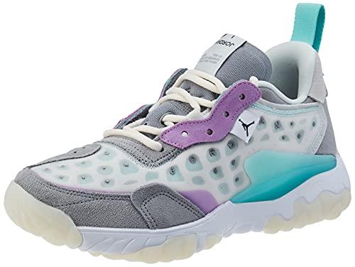 Nike Jordan Delta 2, Zapatillas Deportivas Hombre, Platinum Tint Dk Smoke Grey White, 41 EU