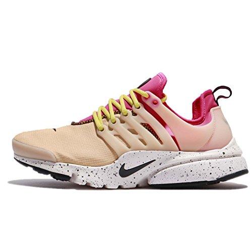 Nike Women's WMNS Air Presto Ultra SI, Mushroom/Deadly Pink-Black, 6 US