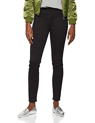 Armani Exchange Damen 10,9 Ounces Overdyed Satin Skinny Jeans, Schwarz (Black Denim 0204), 40 /L30 (Herstellergröße:27)
