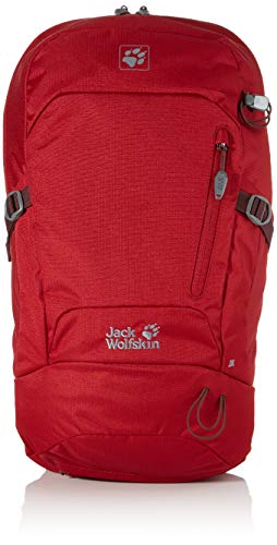 Jack Wolfskin Unisex-Erwachsene Helix 20 Pack sac à DOS de randonnée Wanderrucksack, Rot (red Maroon), One Size