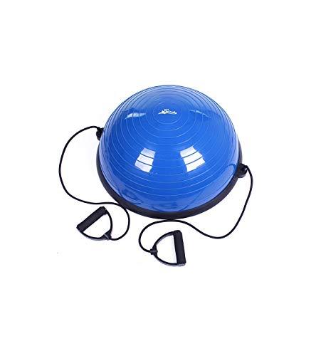 Riscko Semiesfera de Equilibrio Balance Air Step 58 cm Bos Up Bola de Equilibrio Trainer - Azul