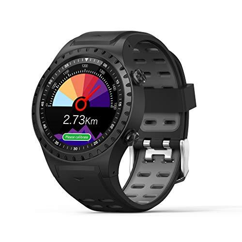 Reloj para Correr con GPS, Rastreador De Ritmo CardíAco A Base De MuñEca Y Rastreador De Ejercicios, Rastreador De Actividad Ip67 con Monitor De SueñO, Pulsera Inteligente para Hombre